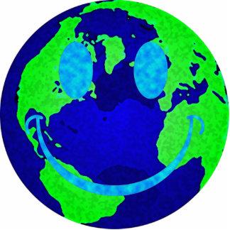 Smiley Earth Statuette