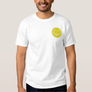 Smiley Embroidered T-Shirt