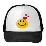 Smiley en amor gorra