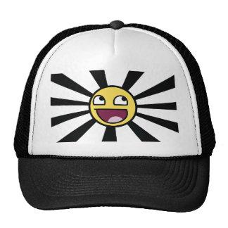Smiley épico gorras