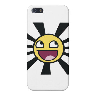 Smiley épico iPhone 5 carcasa