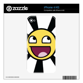 Smiley épico skins para iPhone 4S