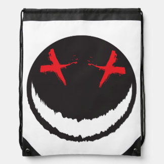 Smiley espeluznante mochila