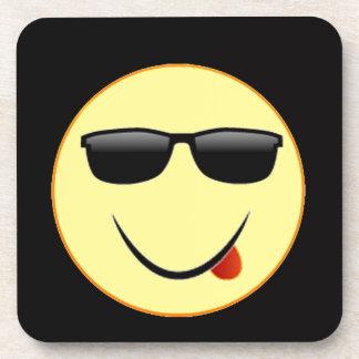 """Smiley Face 2"" Drink Coaster"