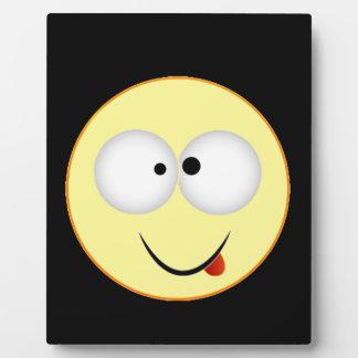 """Smiley Face 4"" Display Plaque"