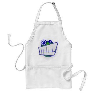 smiley face apron