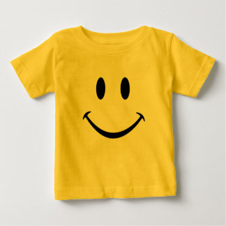 smiley face baby baby T-Shirt