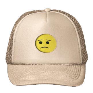 Smiley Face Bad Mood Hats