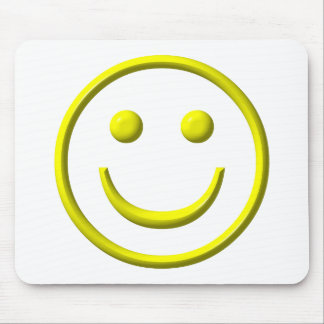 Smiley Face - Be happy! Mouse Pad