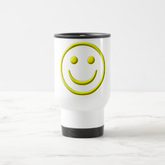 Smiley Face - Be happy! 15 Oz Stainless Steel Travel Mug