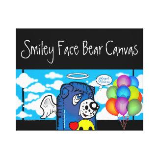 Smiley Face Bear Canvas Collection