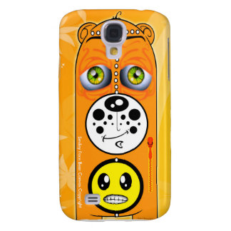 Smiley Face Bear Canvas Smartphone Cases