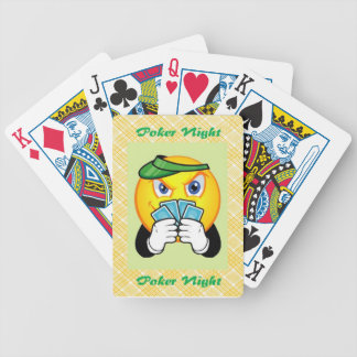Smiley Face, Bicycle Poker Cards