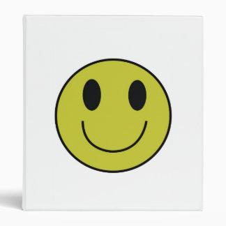 Smiley Face Binder