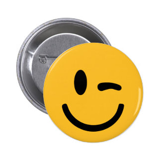 Smiley Face blink Button