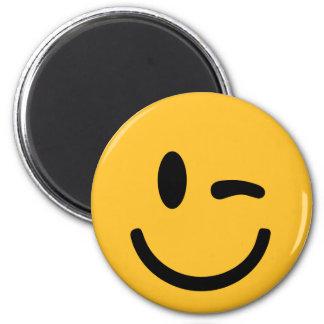 Smiley Face blink Magnet
