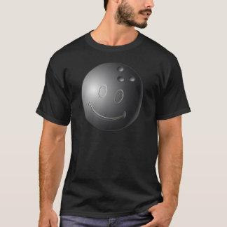 SMILEY FACE BOWLING BALL T-Shirt