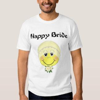 Smiley Face Bride T-Shirt