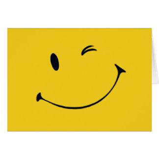 Smiley Face Card