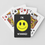 "Smiley Face Cards<br><div class=""desc"">Tease your opponent with this cheerful set of smiley face playing cards.</div>"