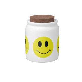 Smiley Face Classic Candy Jar