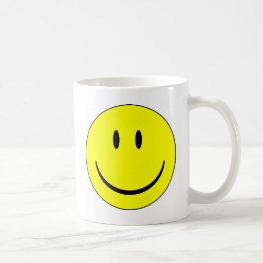 Smiley Face Classic White Coffee Mug