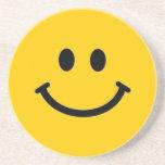Smiley Face Coaster (Customizable)
