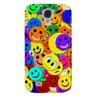 Smiley Face Collage 3G/3GS  Samsung S4 Case
