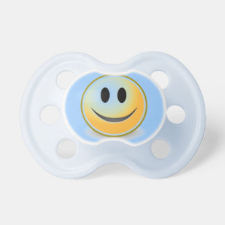 Smiley Face Custom Baby Pacifier