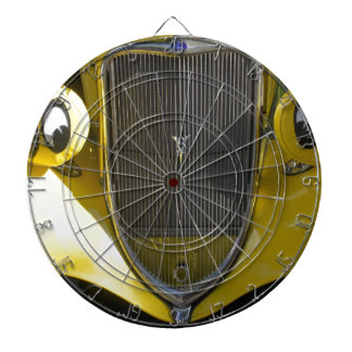 Smiley Face Dartboard With Darts