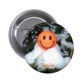 Smiley Face Decorations Pinback Button