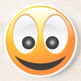 Smiley Face Drink Coaster
