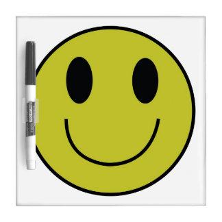 Smiley Face Dry Erase Board