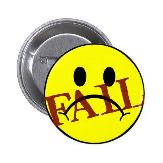 Smiley Face FAIL 2 Inch Round Button