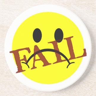 Smiley Face FAIL Coaster