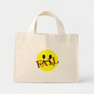 Smiley Face FAIL Mini Tote Bag