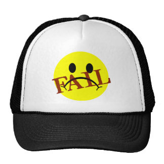 Smiley Face FAIL Trucker Hat