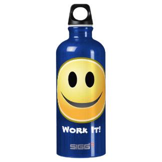 Smiley Face Fitness Custom SIGG Traveler 0.6L Water Bottle