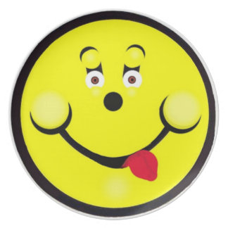 Smiley Face For Laughs Plate