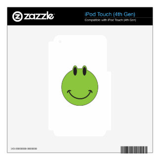 Smiley Face Frog Decal For iPod Touch 4G