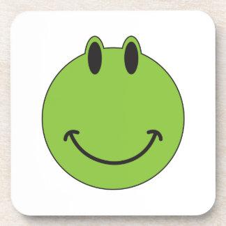 Smiley Face Frog Drink Coaster
