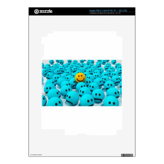 Smiley Face fun Image iPad 3 Decals
