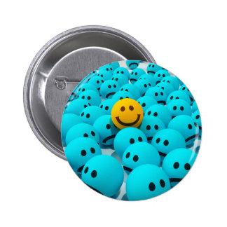 Smiley Face fun Image Pinback Button
