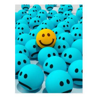 Smiley Face fun Image Postcard