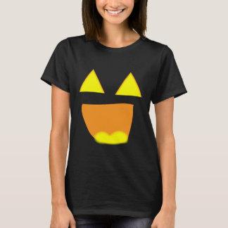 Smiley face Glowing Jackolantern Face Shirt