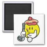 Smiley Face Golf T-shirts and Gifts Fridge Magnet