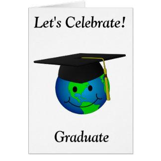 Smiley Face Graduation Party Invitation