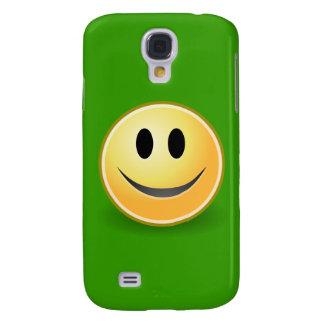 Smiley Face (Green) Samsung S4 Case