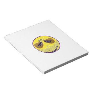 Smiley Face Guru Cool Scratch Pads