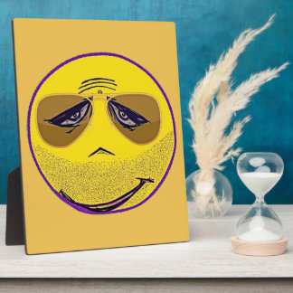 Smiley Face Guru Cool Plaque